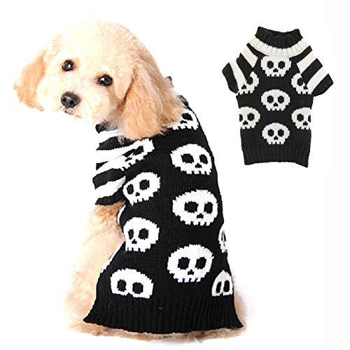 PETCARE Suéter para perro, suéter de invierno para perros, cárdigan para Halloween, carnaval, disfraz para perros pequeños y grandes