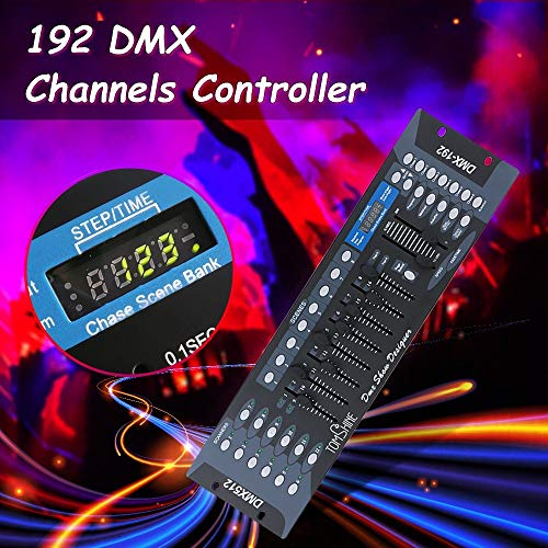 Review LionHowl 192 Channels DMX512 Light Controller Show Designer Console for Stage Light DJ Party ...