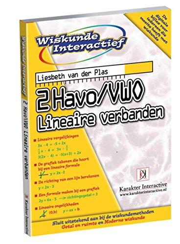 2Havo/vwo Lineaire verbanden