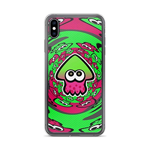 Beamm-Frost Compatible with iPhone 6 Plus/6s Plus Case Splatoon Inkling Squid Symbol Shooter Game Pure Clear Phone Cases Cover