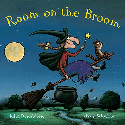 『Room on the Broom』のカバーアート