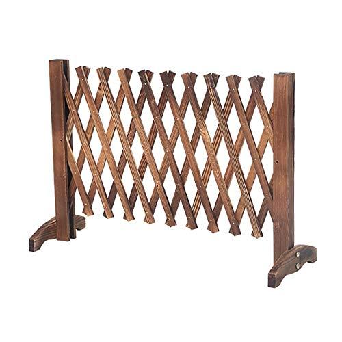Erweitern von Gartenzaun, hölzernen Tiersperrgitterplatten, Gartenkanalgrenze Privatsphäre Zaunbildschirm für draußen (Size : 90cm)