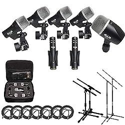Best Drum Mic Kits - Multi-Piece Microphone Setup Reviews