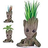 Angker Blumentopf mit Cartoon-Figur - Groot - Sukkulenten-Übertopf, für grüne Pflanzen oder...