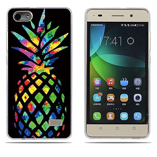 DIKAS Handyhülle für Huawei Honor 4C, Hülle für Huawei G Play Mini, TPU Softcase Silikon Tasche Anti-Scratch Telefon-Kasten Handyhülle Handycover für Huawei Honor 4C / für Huawei G Play Mini- Pic: 09