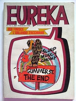 Eureka n.114 1973 Andy Capp, Sturmtruppen/Bonvi, Bunker ed. Corno FU05