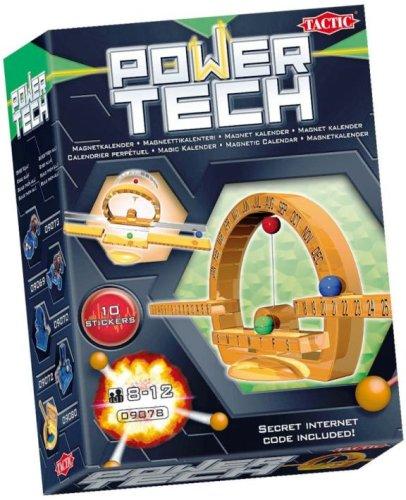 Tactic - 09078 - Jeu Découverte - Power Tech : Calendrier Perpétuel