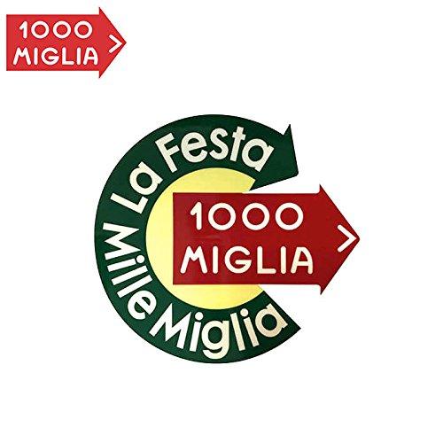 Mille Miglia(ミッレ ミリア)ラ・フェスタ・ミッレ・ミリア ステッカー LA FESTA MILLE MIGLIA STICKER E なし