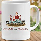 Holy-POD Store Chummy and Friends Movies #Miranda Hart Funny Cute Meme Movie Film Coffee Mug Gift for Women and Men Tea Cups