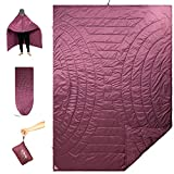 iClimb 3M Thinsulate Insulation Warm Camping Blanket Ultralight Compact (Dry Rose)