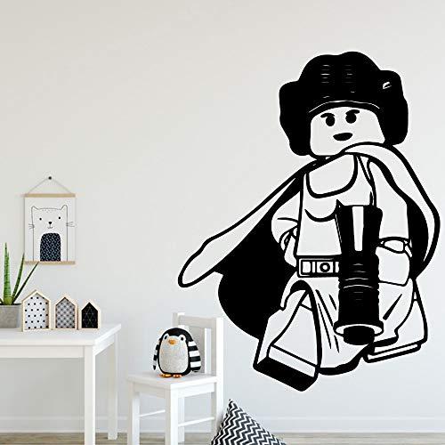 wZUN Europäische Ninjutsu Cartoon Wandaufkleber Wandbild Kunst Poster Wohnzimmer Schlafzimmer Wanddekoration Wandbild 58x81cm