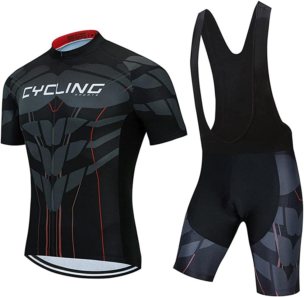 SUDUSUDO Men's Cycling Jersey Set Road Free shipping / New New Free Shipping Bib Shorts Bike Br Shirts