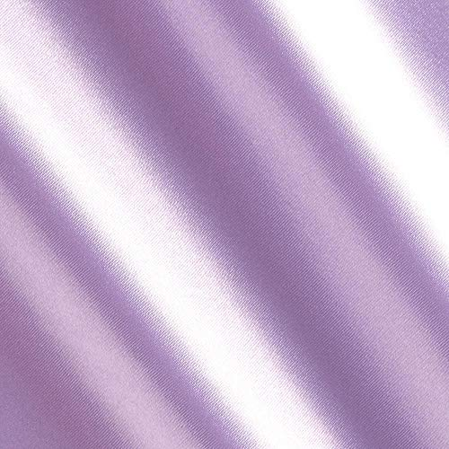 Ben Textiles Bridal Satin Lavender Fabric By The Yard