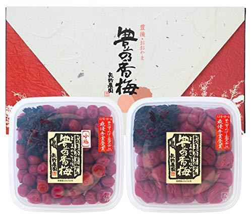 [お中元・夏ギフト・ご贈答]豊の香梅 梅干し詰め合わせ 大梅500g・小梅500g