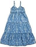Replay Mädchen SG3168.050.50103KM Kleid, per Pack Mehrfarbig (Denim Print 1), 152 (Herstellergröße: 12A)