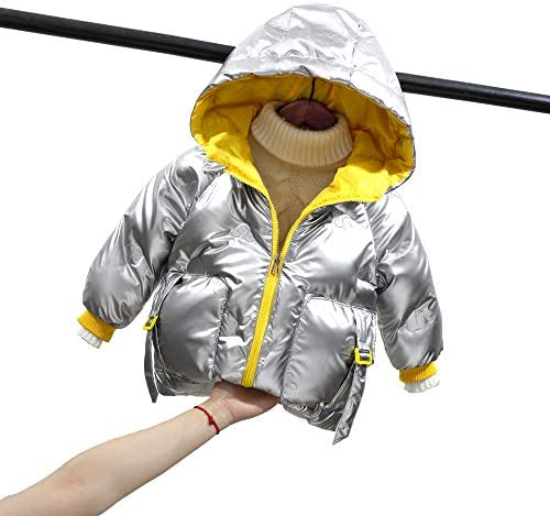 GETUBACK Boys Down Jacket Girls Toddler Kids Coat with Hoodies Winter Chilrens Outwear Kids product image