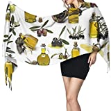 Olive Oil Women's Winter Warm Scarf Fashion Long Large Soft Cashmere Shawl Wrap