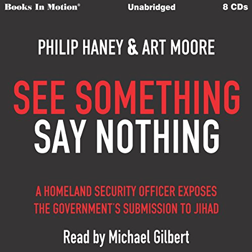 See Something Say Nothing audiobook cover art