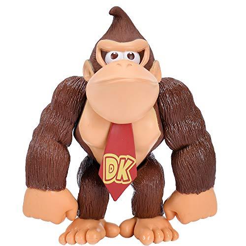 BSNOW Super Mario Bros Figura de acción Muñeca Colección de Personajes Juego de Juguetes para niños Regalo de cumpleaños 12cm - Donkey Kong