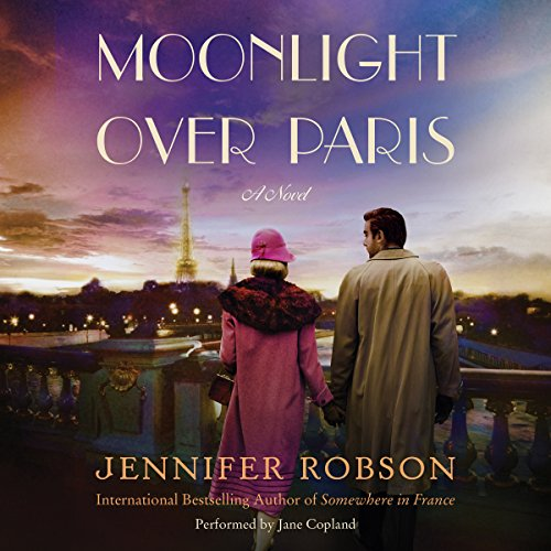 Moonlight over Paris audiobook cover art