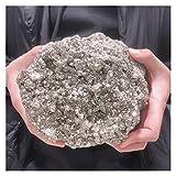 パワーストーン 1個の天然黄鉄鉱不規則な鉱石のクリスタルストーンミネラルログロンの粗い石英教育サンプル宝石の装飾品黄鉄鉱宝石 蛍石 Größe  5.0-5.5kg