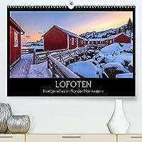 LOFOTEN - Inselparadies im Norden Norwegens (Premium, hochwertiger DIN A2 Wandkalender 2022, Kunstdruck in Hochglanz): Bilderreise durch eine faszinierende Inselwelt (Monatskalender, 14 Seiten )