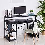 Immagine 1 homcom scrivania computer per ufficio