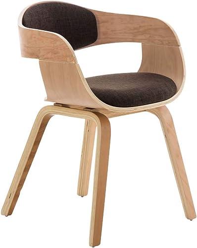 Chaise Design Retro Kingston Tissu - Chaise de Salle de Conférence avec Accoudoirs - Siège et Dossier Rembourrés - Ch...