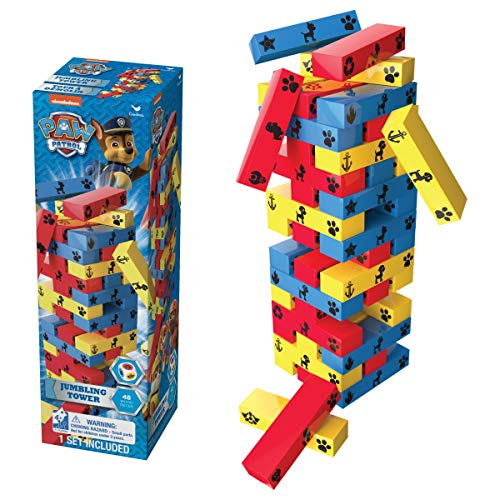 Cardinal Games Paw Patrol Jumbling Tower Game