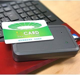 IDm/UID読み取りFeliCa リーダー(Mifare icカード対応)イージーICリーダー・FeliCa lite-sカード10枚付
