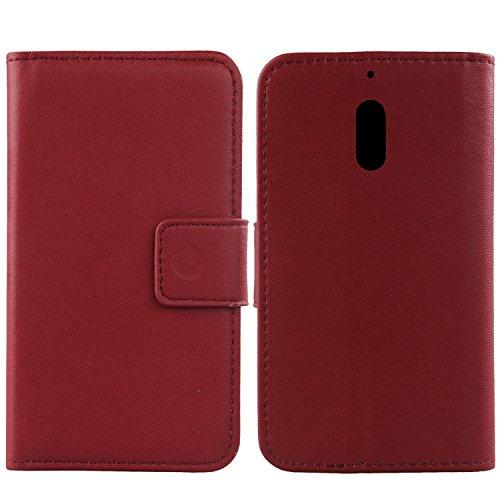 Gukas Design Echt Leder Tasche Für Nokia 6 Dual SIM 5.5