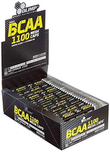 5 x Olimp BCAA 1100, 900 Mega Caps (5er Pack)
