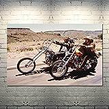 qianyuhe Druck auf Leinwand Easy Rider 1969 Klassische