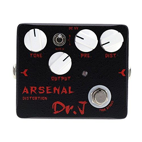 Anself Joyo Dr.J D-51 Arsenal Distortion E-Gitarre Effektpedal Aluminiumlegierung-Gehäuse True Bypass