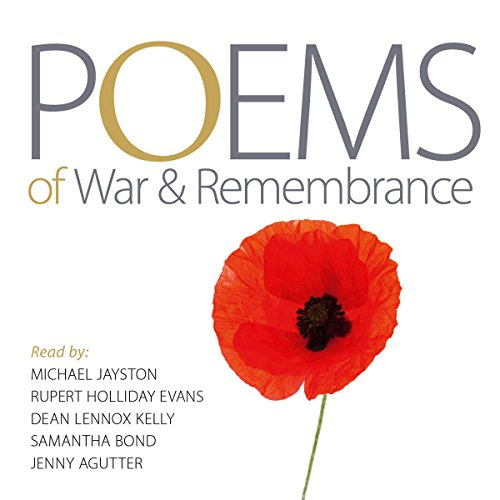 Poems of War and Remembrance audiobook cover art