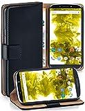 moex Klapphülle kompatibel mit Motorola Moto E5 Hülle
