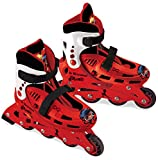 Lady Bug Miraculous MD-28048 Patines, Multicolor, Talla Ajustable