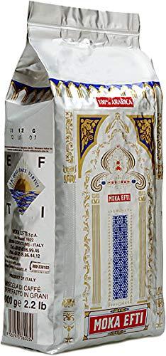 Moka Efti 100% Arabica, Bohne, 1er Pack (1 x 1 kg)