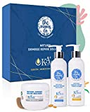 The Moms Co. Natural Damage Repair KA+ Hair System for dry & damaged hair with keratin...