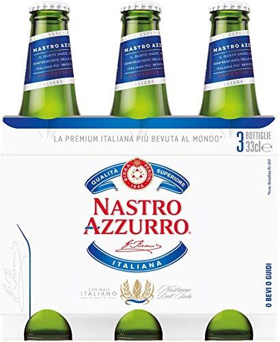 Nastro Azzurro Birra, 3 x 33cl