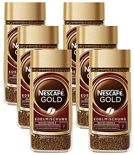 Nescafe Gold Edelmischung 6 x 200g