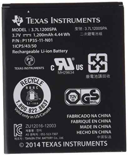 Texas Instruments N2BT/BKT/B TI-accupack (voor Nspire CX, TI-Nspire CX CAS, TI-84Plus CE-T)