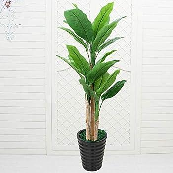 Objet de d/écoration Bananier artificiel avec pot H 120 cm