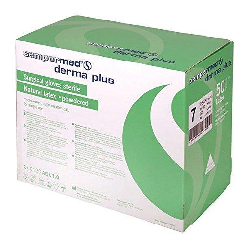 Sempermed 07085 Derma Plus Op-Handschuhe, Extra Groß-8.5 (50-er Pack)