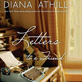 Letters to a Friend audiobook cover art