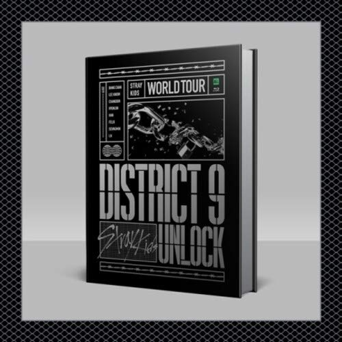 Stray Kids World Tour District 9 Unlock in Seoul Bluray