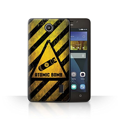 STUFF4 Phone case/cover/Skin/huahy-cc/Hzrdsgn Collection, plastica, Atomic Bomb, Huawei Y635
