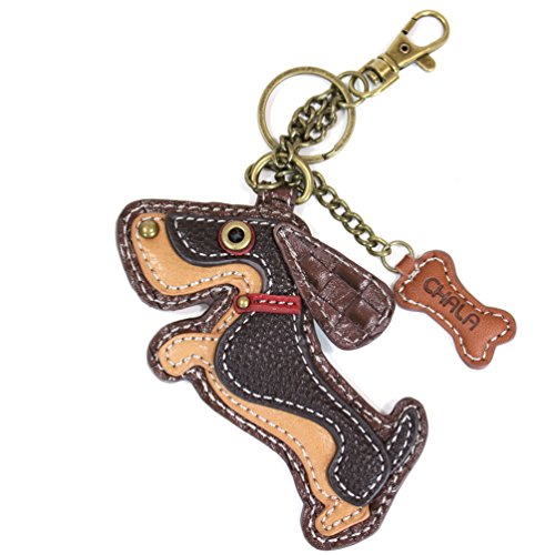Chala Key Fob/Coin Purse - Basset Hound Dog