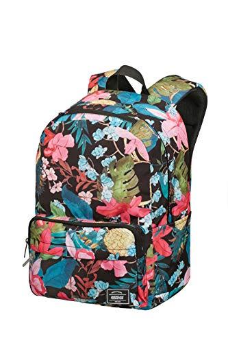 American Tourister Urban Groove Lifestyle - Rucksack, 40 cm, 23 L, mehrfarbig (black floral)