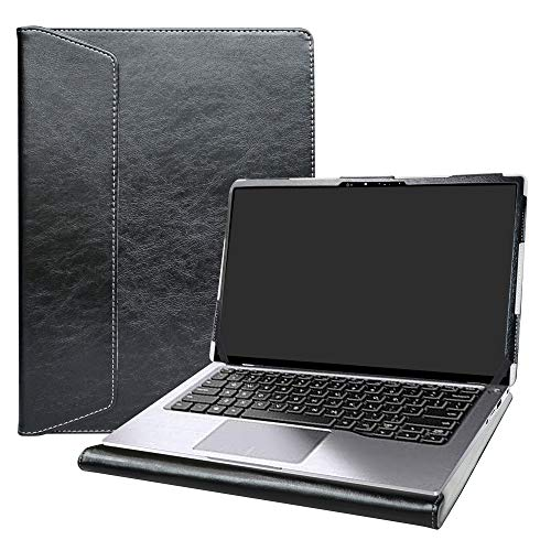 Alapmk Protective Case Cover For 14' Dell Latitude 14 2-in-1 7400 Series Laptop [Warning:Not fit Dell Latitude 7400 7480 7490],Black